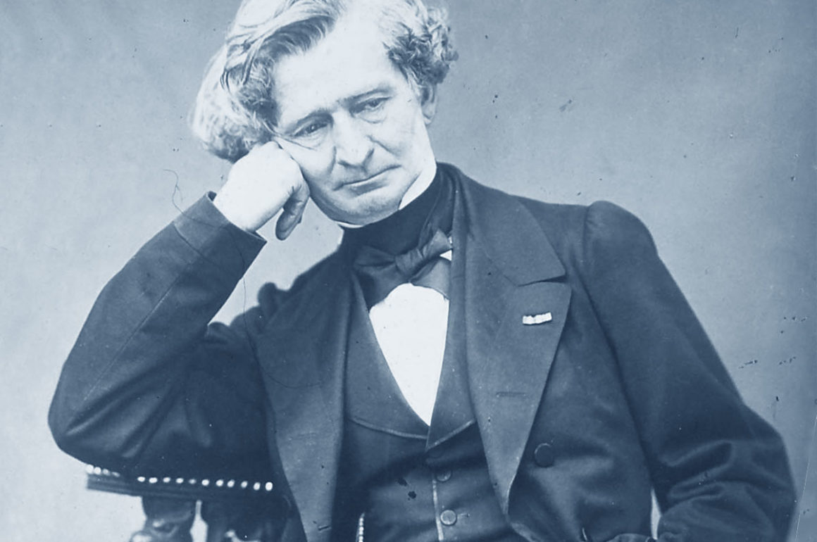 Hector Berlioz in a photograph by Petit