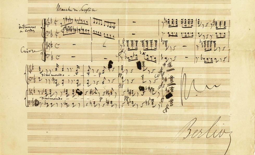 symphonie fantastique autographe